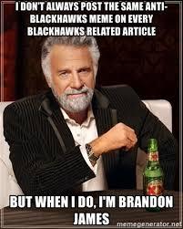 Blackhawks Meme - blackhawks meme 100 images meme blackhawks 2 kings 1 chris