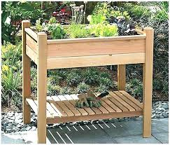 Garden Bench With Storage Narrow Garden Bench Bench Raised Bed Made Of Railway Sleepers This