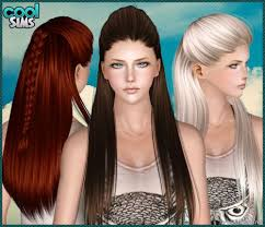 custom hair for sims 4 trey songz hairstyle hair is our crown