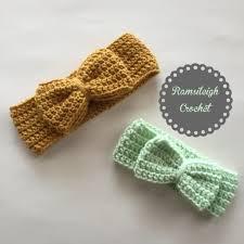 crochet baby headbands i like big bows crochet bow headwrap free pattern