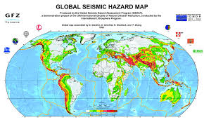 middle east earthquake zone map gshap