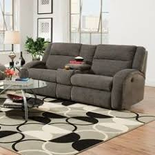 Reclining Sofa With Console by Southern Motion Maverick Double Console And Reclining Sofa Wayfair