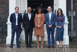 of the royal family welcome the obamas