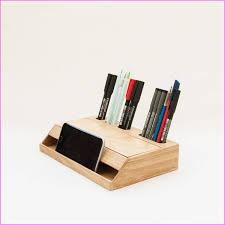 Modern Desk Supplies Desk Supplies Wood Handmade Desk Organizer Fice Modern