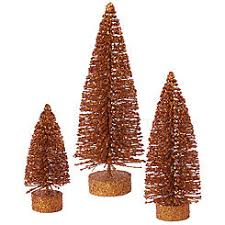 2ft 3ft 4ft unlit alpine artificial trees set of 3