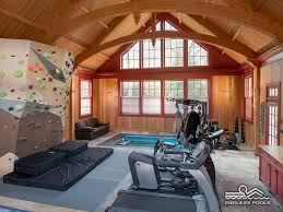 part sunroom part fitness barn this workout room stands out with