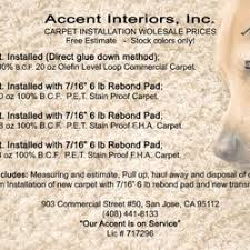 Free Estimate Carpet Installation by Accent Interior 18 Photos Carpet Installation 903 Commercial