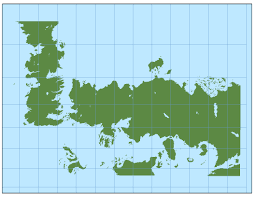 True Size World Map by The Ibbenese Cartographer The True Size Of The North