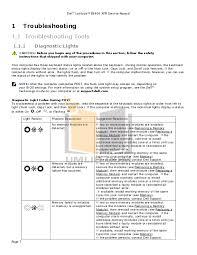 Dell Diagnostic Lights Pdf Manual For Dell Laptop Latitude E6400 Xfr