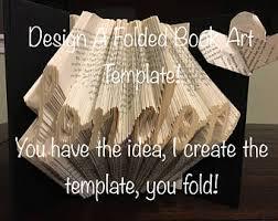 folded book art etsy