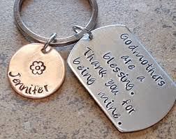 godmother keychain personalized godparent keychain by eternitydesignsdria on etsy