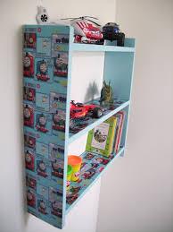 60cm boys thomas the tank engine shelves childrens bedroom