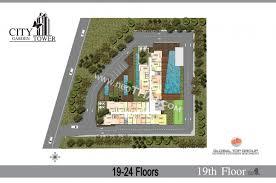 Cote D Azur Floor Plan by City Garden Tower Pattaya Condo Deals Buy Resale Price