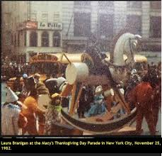 branigan november 1982 during the macy s thanksgiving day
