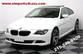used bmw 650i coupe 2008 used bmw 6 series 650i coupe cpo certified sport navi at
