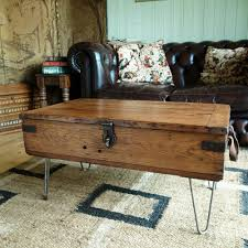 Vintage Trunk Coffee Table Vintage Trunk Coffee Table Chest Retro 40s Ecstatic