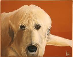 afghan hound art emporium artist spotlight series lesli devito the english room
