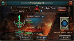 Fable 2 Donating To The Light Legacy Of The Tarots Individual And Server Rewards Gtarcade