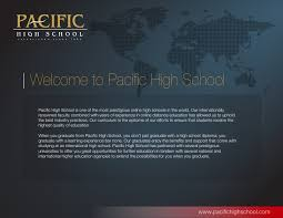 is online high school pacific high school online high school with a difference