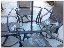 Glass Table Patio Set Replacement Glass Table Top For Patio Furniture Patios Home