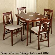 round wooden folding table furniture folding wood table new folding card tables and chairs