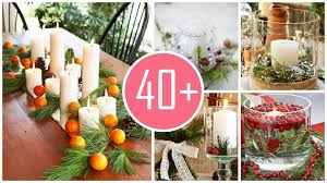 christmas candle centerpiece ideas ideas wonderful christmas dinner table decorations captivating
