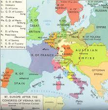 Germany Europe Map by 1815 Europe After The Congress Of Vienna French Revolution
