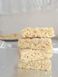 How To Make 3 Ingredient Energy Bars At Home Recipe Kitchn by Dairy Free Coconut Rice Krispie Treats The Cheerful Kitchen