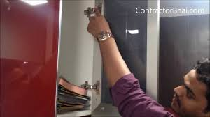 Kitchen Cabinet Shutters Aluminum Profile Shutters Kitchen By Contractorbhai Com Youtube