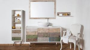 Wood Bathroom Furniture Weathered Wood Look Bathroom Vanities Stunningly Beautiful
