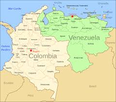 Columbia World Map by Venezuela U2013colombia Boundary Treaty Of 1941 Wikipedia