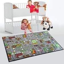 Kids Play Rugs With Roads by Road Map Children U0027s Rug Kid U0027s City Village Town Road Play Mat Non
