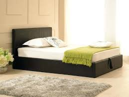 black king size ottoman storage bed tag black leather ottoman bed