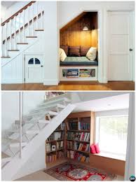 under stairs ideas build in ideas to use space under stairs