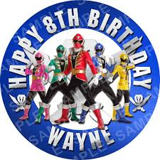 power rangers cake toppers power rangers archives edible cake toppers ireland