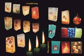 Wholesale Christmas Home Decor Wholesale Christmas Home Decoration Luminary Candle Bags Buy