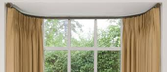 Bay Window Curtains Corded Curtain Track For Bay Windows Uk Gopelling Net