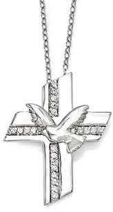 confirmation crosses confirmation blessings sterling silver cross necklace