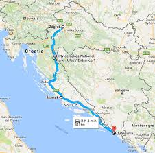 map trip croatia road trip itinerary the ultimate guide from zagreb to