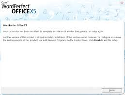 corel draw x5 trial wordperfect office x5 another version of this product is already