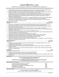 Retired Military Resume Examples Director Of Finance Resume Examples Financial Management Resume