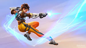wallpaper overwatch blizzard s overwatch images tracer hd wallpaper and background