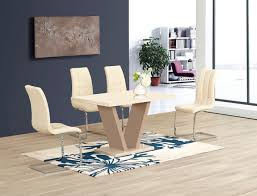 Gloss Dining Tables Dining Table Black Gloss Dining Table And Chairs With Design
