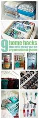 9 home hacks that will make you an organisation genius clever
