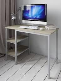 Computer Desk Workstation Desk Shelf Unit Computer Pc Table Study For Home Office Furniture