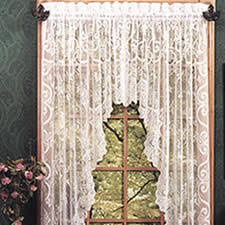Victorian Swag Curtains Lace Curtain Swags Queen Anne U0027s Lace A Heritage Lace Gallery Store