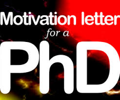 phd motivational letter