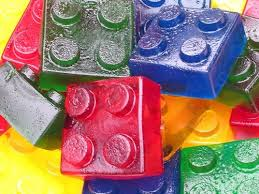 jello jigglers use leggos to make these w the kids so fun