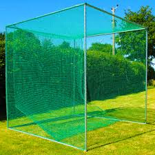 freestanding golf cage training golf hitting net net world sports