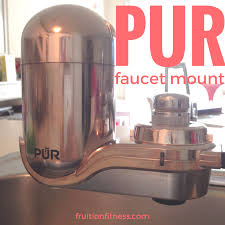 Pur Faucet Mount Water Filter Reviews Pur Faucet Mount Water Filter Review Fruition Fitness